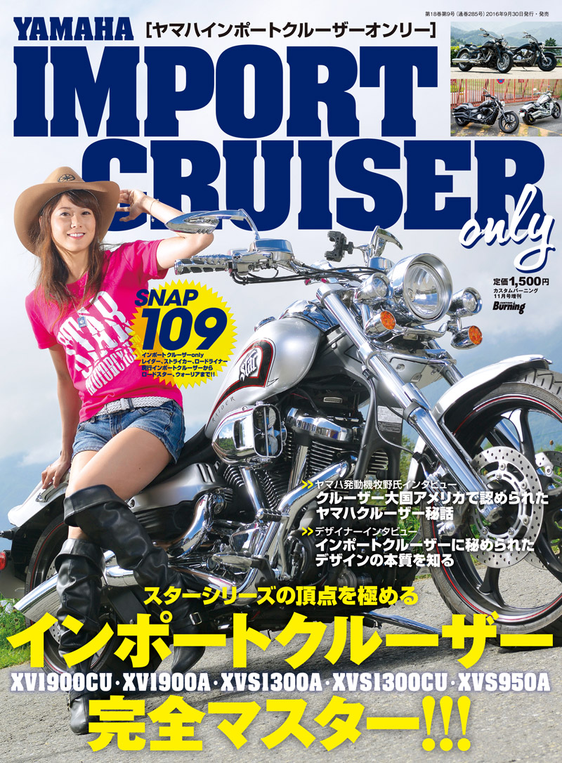YAMAHA IMPORT CRUISER only