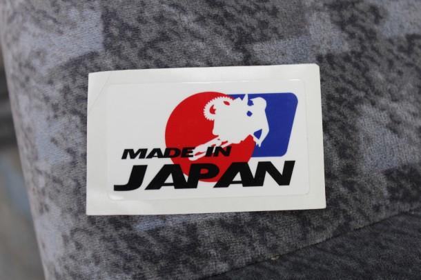 そんな田中教世選手が運営するTEAM TAKASEスタッフの亀山さんから「MADE IN JAPAN」の文字が印刷されているステッカーを頂きました! 今こそ日本をもっとアピールしたいですね