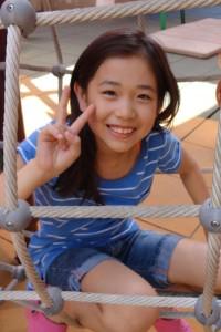 楠本菜月(クスモトナツキ)。10歳