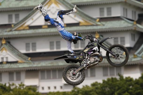 「GO BIGでの走りがめっちゃ情けなかったので」と、今日は奮起。日本人予選1位!