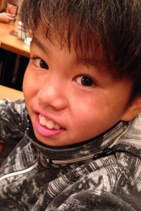 鈴木龍星(スズキリュウセイ)。10歳