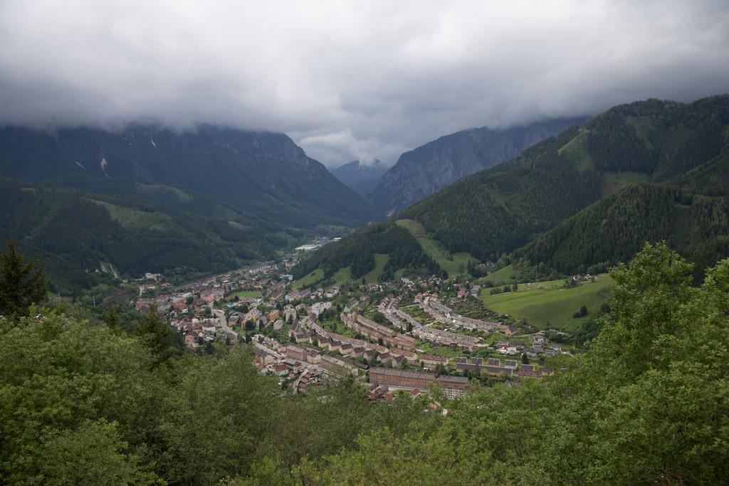 エルズベルグ鉱山は、上るとこれはこれで絶景