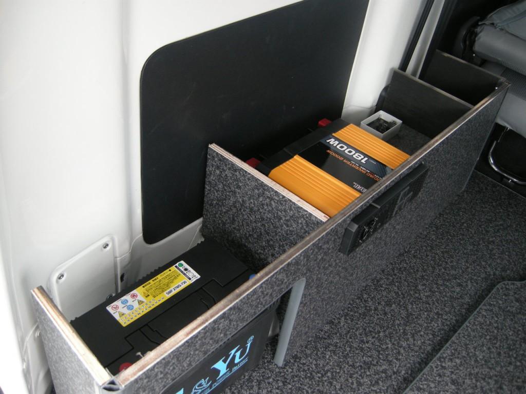 サイドボックスを作るのも簡単