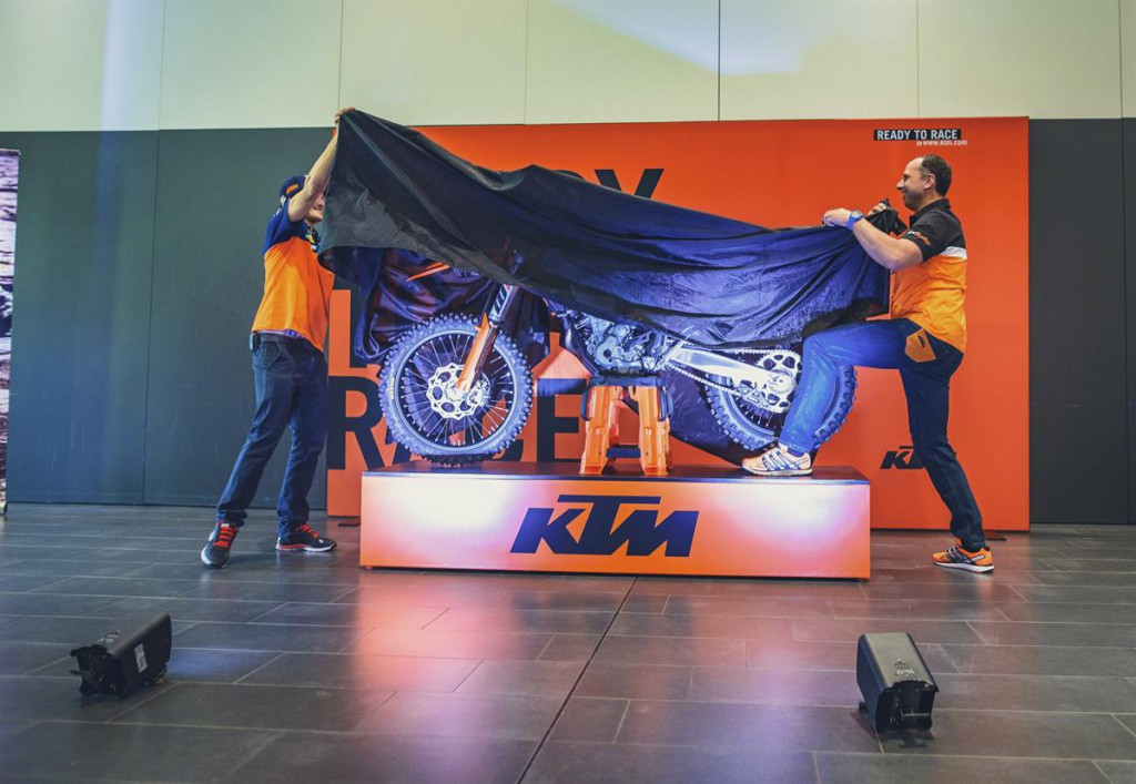 KTM EXC MY 2017_Unveiling of the bike