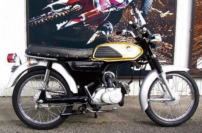 SUZUKI コレダ50スクランブラー