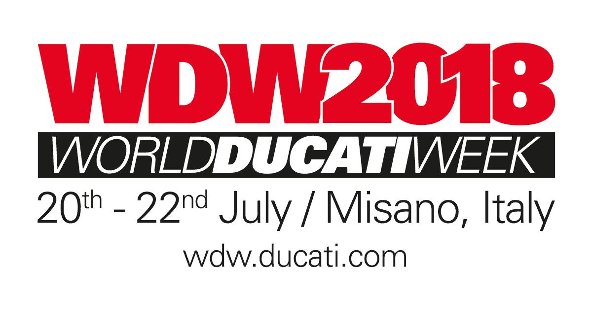 2018年にワールド・ドゥカティ・ウィークが帰ってくる!